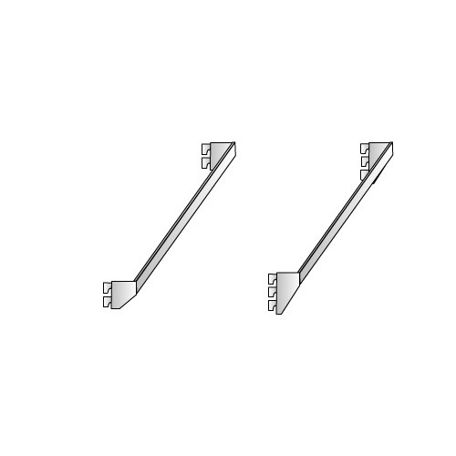 25mm x 5mm Crossbar with 2 or 3 Lug Fixers