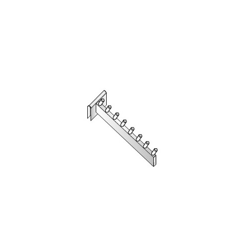 Crossbar Waterfall Pin Prong