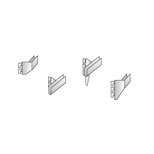 Crossbar End & Centre Fixers